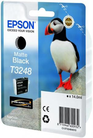 Картридж Epson C13T32484010 для Epson SC-P400 матовый черный корпус atx zalman r1 без бп белый