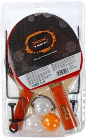 Спортивная игра X-Match Набор для настольного тенниса (сетка+крепление) 635058 спортивная игра дартс x match 15 дюймов 63524