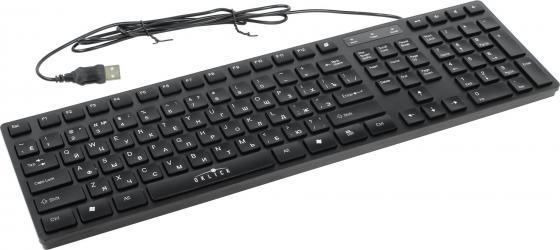 лучшая цена Клавиатура проводная Oklick 556S USB черный