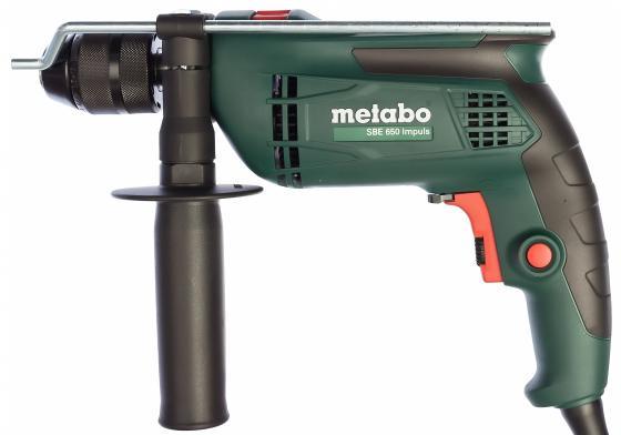 Дрель Metabo SBE650Impuls 650Вт