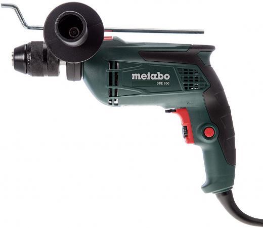 Дрель-шуруповёрт Metabo SBE650 650Вт дрель ударная metabo sbe650 600672500