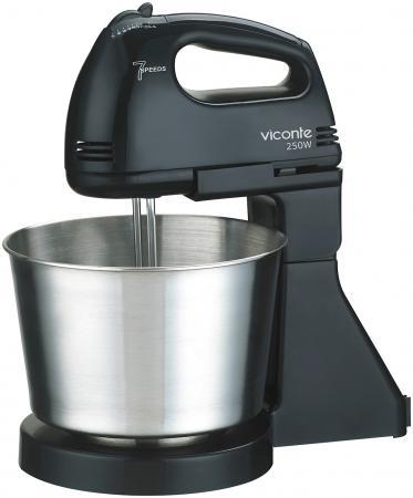 Миксер стационарный Viconte VC-346 250 Вт черный кофемолка viconte vc 3104 250 вт белый