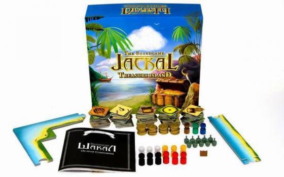 Настольная игра семейная Magellan Шакал: остров сокровищ MAG00404 magellan magellan настольная игра день вождей