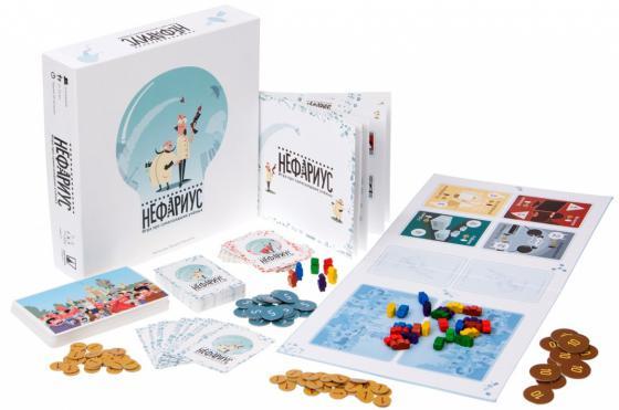 Настольная игра семейная Magellan Нефариус MAG00977 настольные игры magellan magellan нефариус дополнение