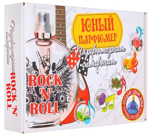 Набор для создания духов Инновации для детей Парфюмерная симфония - Рок-н-ролл от 3 лет 719 comic note скетчбук для создания собственного комикса