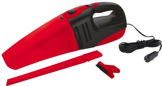 купить Автомобильный пылесос ZIPOWER PM 6705 сухая уборка черно-красный по цене 1060 рублей