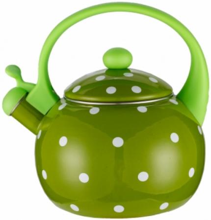 купить Чайник Zeidan Z-4115-03 зелёный 2.5 л металл по цене 920 рублей