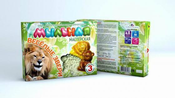 Набор для изготовления мыла Инновации для детей Мыльная Мастерская: Веселые звери от 7 лет 748 инновации для детей набор мыльная мастерская сафари