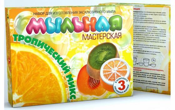 Набор для изготовления мыла Инновации для детей Мыльная Мастерская: Тропический микс от 7 лет 744 набор для изготовления мыла инновации для детей мыльная мастерская тропический микс 744