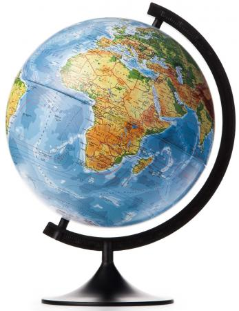 Глобус Земли физический 320 серия Классик Globen К013200015 глобус земли физический 320 серия классик globen
