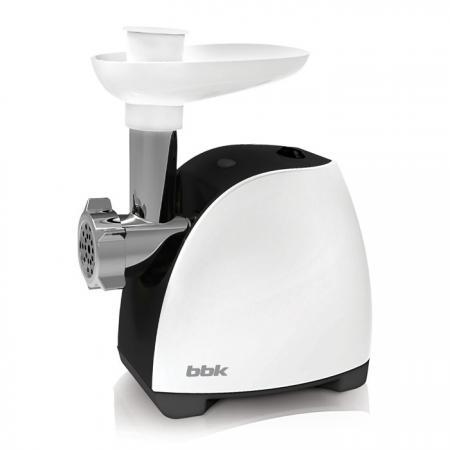 Электромясорубка BBK MG1601 400 Вт белый чёрный черно-серебристый соковыжималка steba e 400 400 вт серебристый
