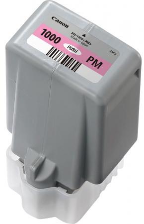 Картридж Canon PFI-1000 PM для IJ SFP PRO-1000 WFG фото пурпурный 0551C001 терминал delixi ut2 5 4mm 1000
