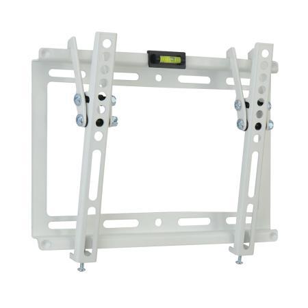 "Кронштейн Kromax IDEAL-6 белый LED/LCD 15-47"" наклон 15° 28 мм от стены VESA 200x200 max 35 кг"