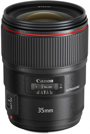 Объектив Canon EF 35 1.4L II USM 9523B005 объектив canon ef 24mm f 2 8 is usm черный