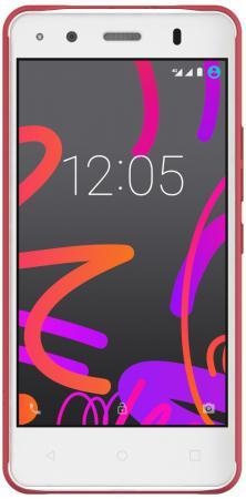 Чехол BQ для BQ Aquaris M4.5 красный E000591 lcd display touch screen digitizer for bq aquaris e5 fhd lcd screen tft5k0760fpc a2 e with frame free shipping