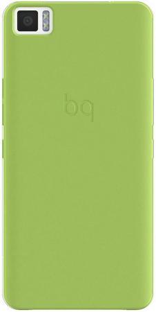 Чехол BQ для BQ Aquaris M5 зеленый E000598 bq gummy m5 для aquaris m5 накладка поликарбонат черный