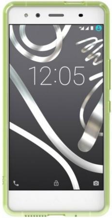 Чехол BQ для BQ Aquaris X5 зеленый E000637 чехол bq aquaris x5 black duo