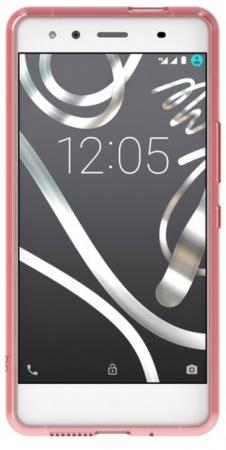Чехол BQ для BQ Aquaris X5 красный E000638 чехол bq для bq aquaris x5 plus red gummy красный e000694