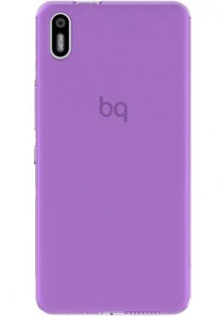 Чехол BQ для BQ Aquaris X5 пурпурный чехол bq aquaris x5 black duo