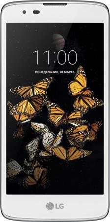 Смартфон LG K8 белый 5 16 Гб LTE Wi-Fi GPS 3G LGK350E.ACISWH смартфон meizu m5 note серебристый 5 5 32 гб lte wi fi gps 3g