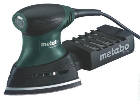 Многофункциональная шлифмашина Metabo FMS 200 Intec 600065500 эксцентриковая шлифмашина metabo fsx 200 intec 240вт 125мм 609225500