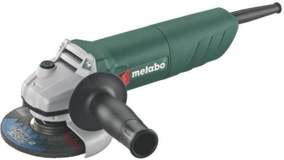 Углошлифовальная машина Metabo W 850-125 125 мм 850 Вт бюстгальтер dkny dk4013 my6