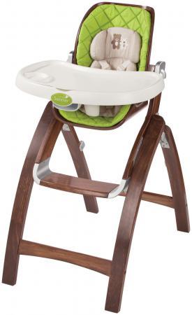 Купить со скидкой Стульчик для кормления Summer Infant BentWood (темное дерево)