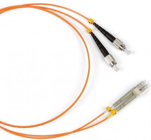 Патч-корд Hyperline FC-9-FC-LC-APC-2M волоконно-оптический шнур 2м shanze samzhe gq 8005 волоконно оптические перемычки fc st одномодовые одноядерные 3 метра