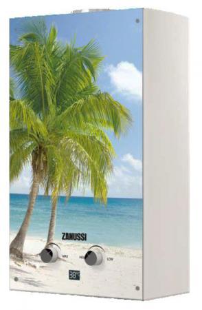 Водонагреватель проточный Zanussi GWH 10 Fonte Glass Paradiso 18.5 кВт водонагреватель накопительный zanussi zwh s 10 melody u yellow