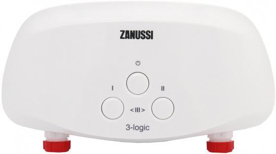 Водонагреватель проточный Zanussi 3-logic 5.5 S душ 5.5 кВт водонагреватель проточный polaris orion 3 5 s