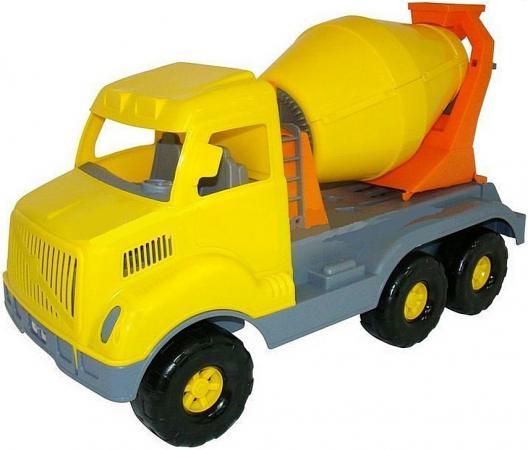 Бетоновоз Cavallino Богатырь 59.5 см желтый 37350 fit 18665