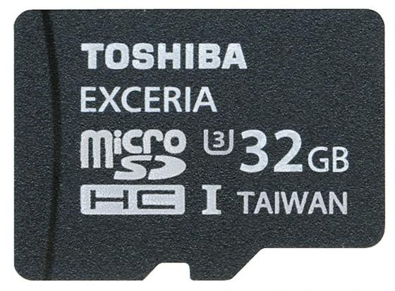 Карта памяти Micro SDHC 32Gb Class 10 Toshiba SD-CX32UHS1(6A + адаптер SD genuine samsung micro sd tf memory card black orange 32gb class 10