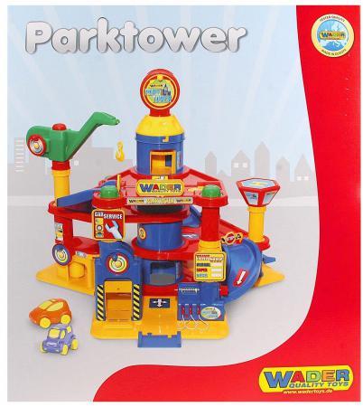 Паркинг Wader 4-уровневый с автомобилями 37855 игровой набор полесье полесье паркинг 4 уровневый с автомобилями