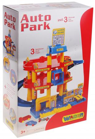 Паркинг Wader 3-уровневый с автомобилями 37893 машины wader паркинг aral 2 4 уровневый с автомобилями