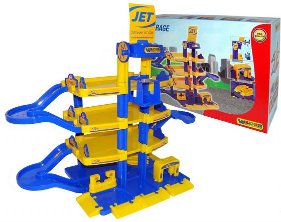 Паркинг Wader JET 4-уровневый 40213 wader конструктор паркинг гараж 1 премиум