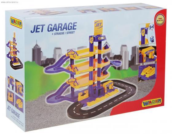 Паркинг Гараж №1 ПРЕМИУМ с автомобилями 40220 wader конструктор паркинг гараж 1 премиум