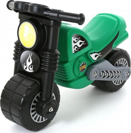 Каталка-мотоцикл Wader Моторбайк пластик от 18 месяцев зеленый 40480