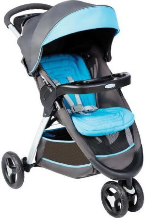 Прогулочная коляска Graco Fastaction Fold (серый-голубой)