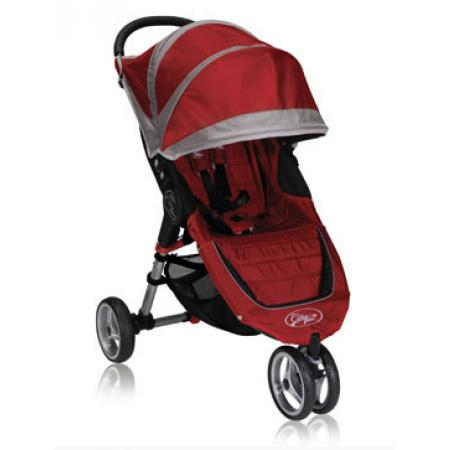baby jogger прогулочная коляска city elite single baby jogger красный Прогулочная коляска Baby Jogger City Mini Single (красно-серый/ВО11236)