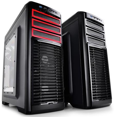 Корпус ATX Deepcool Kendomen RD Без БП чёрный бп atx 380 вт deepcool de380