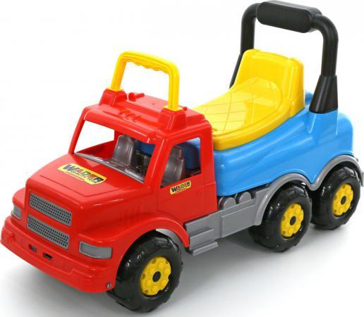 Каталка-машинка Wader Буран-2 пластик от 2 лет красный 43801