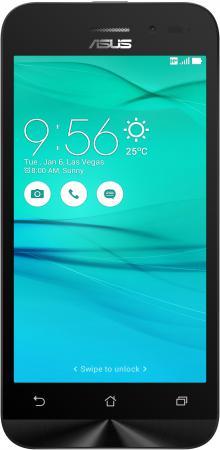 Смартфон ASUS Zenfone Go ZB452KG черный 4.5 8 Гб GPS 3G Wi-Fi 90AX0141-M01130 смартфон asus zenfone go zb552kl 16гб черный