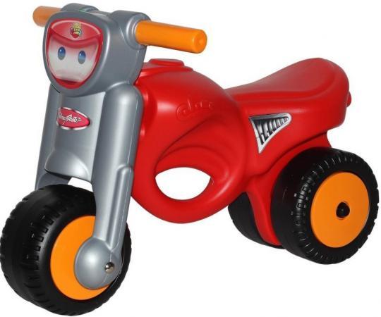 Каталка-мотоцикл Coloma Мини-мото пластик от 2 лет с ручкой красный 48226 coloma 48288 каталка скутер mig