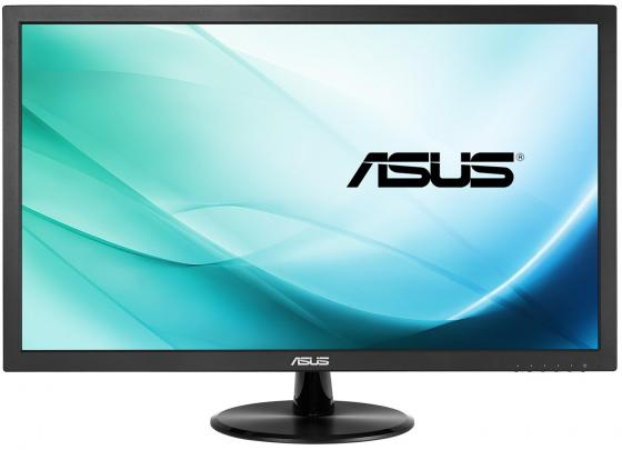 Монитор 21.5 ASUS VP228TE черный TFT-TN 1920x1080 200 cd/m^2 1 ms DVI VGA Аудио 90LM01K0-B01170 монитор 21 5 asus ve228tlb черный tft tn 1920x1080 250 cd m^2 5 ms dvi vga аудио usb