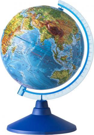 GLOBEN Глобус Земли физический рельефный 320 серия Евро Ке013200229 globen глобус земли политический рельефный 320 серия евро