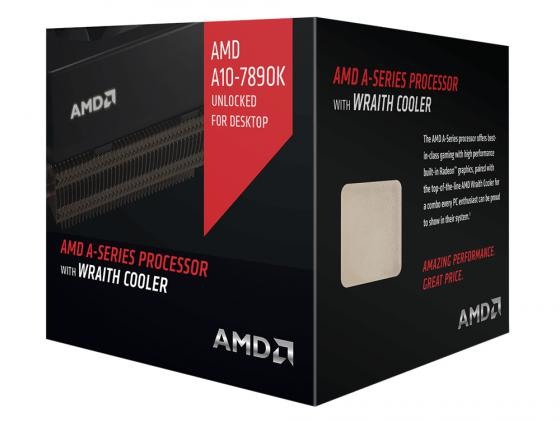 Процессор AMD A10 7890K 4.1GHz AD789KXDJCHBX Socket FM2+ BOX