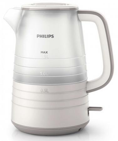 Чайник Philips HD 9336/21 2200 Вт белый 1.5 л нержавеющая сталь