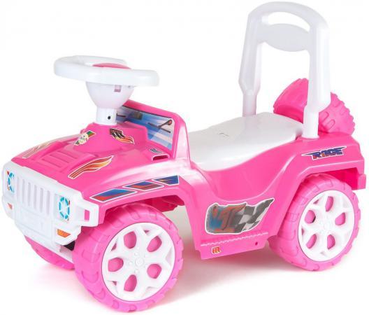 Каталка-машинка Rich Toys Race Mini Formula 1 пластик от 10 месяцев розовый ОР419 цена