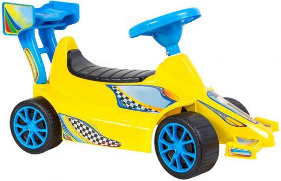 Каталка Rich Toys Гоночный Спорткар Super Sport 1 пластик от 10 месяцев желтый ОР894 рисовая карта для декупажа мужские аксессуары ретро 21 30см