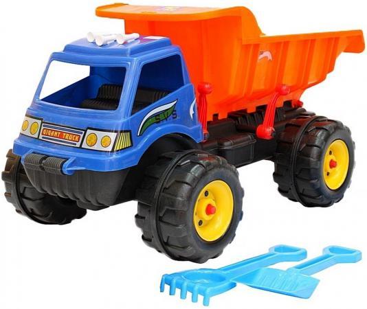 Машина RT Гигант МАХ (лопата, грабли) 92 см синий оранжевый 08-802 вспышка для фотокамеры 2xyongnuo yn600ex rt yn e3 rt speedlite canon rt st e3 rt 600ex rt 2xyn600ex rt yn e3 rt